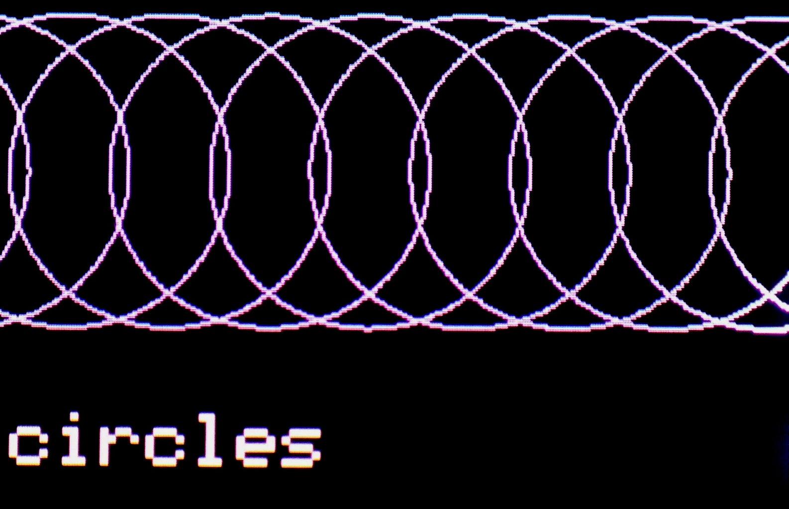 Three Ways to Draw Circles