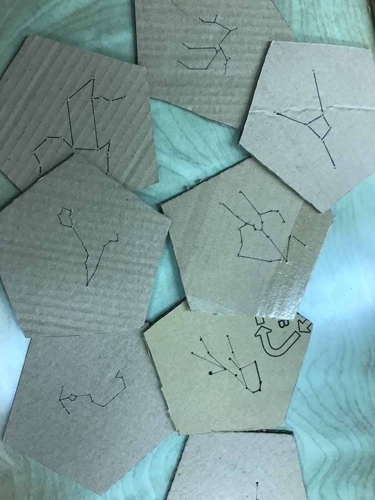 Make Holes Through the Cardboards