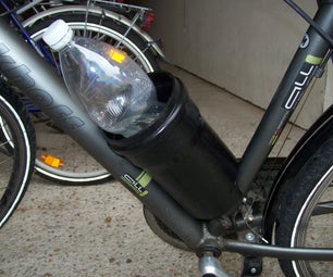 Another 0$ Bike Bottle Holder, Pipe Based