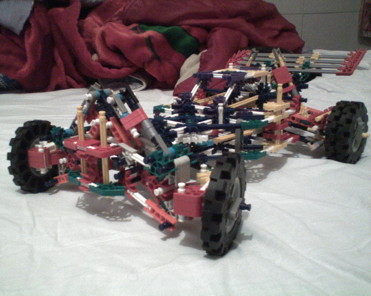knex buggy independent suspension and steering