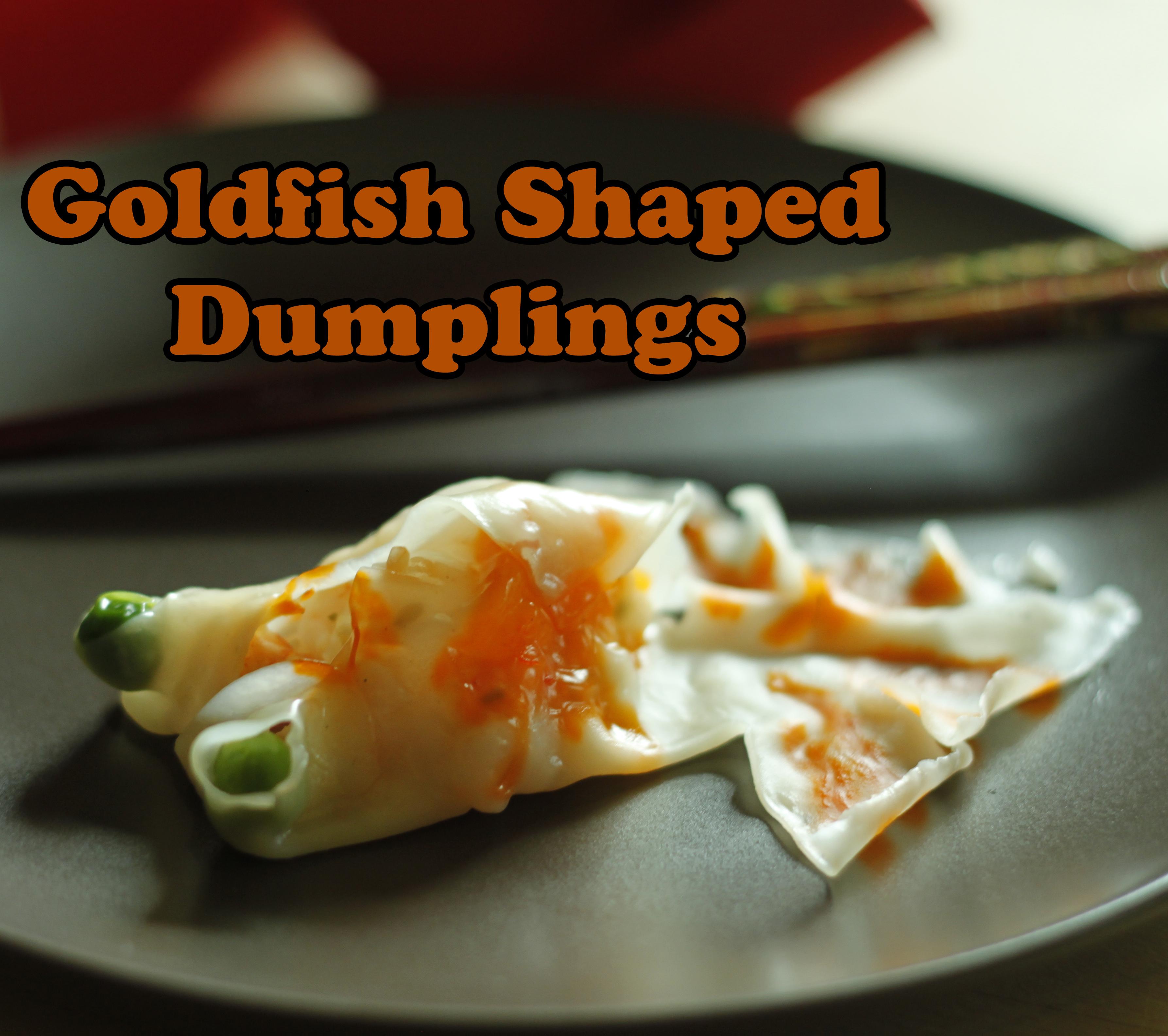 Goldfish Shaped Dumplings