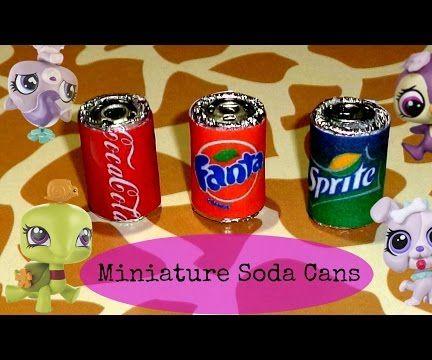 Miniature Soda Cans