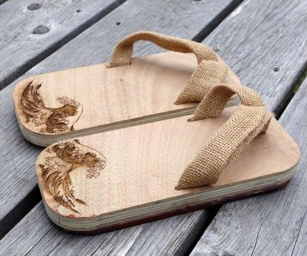 Modern Geta - Wooden Sandals