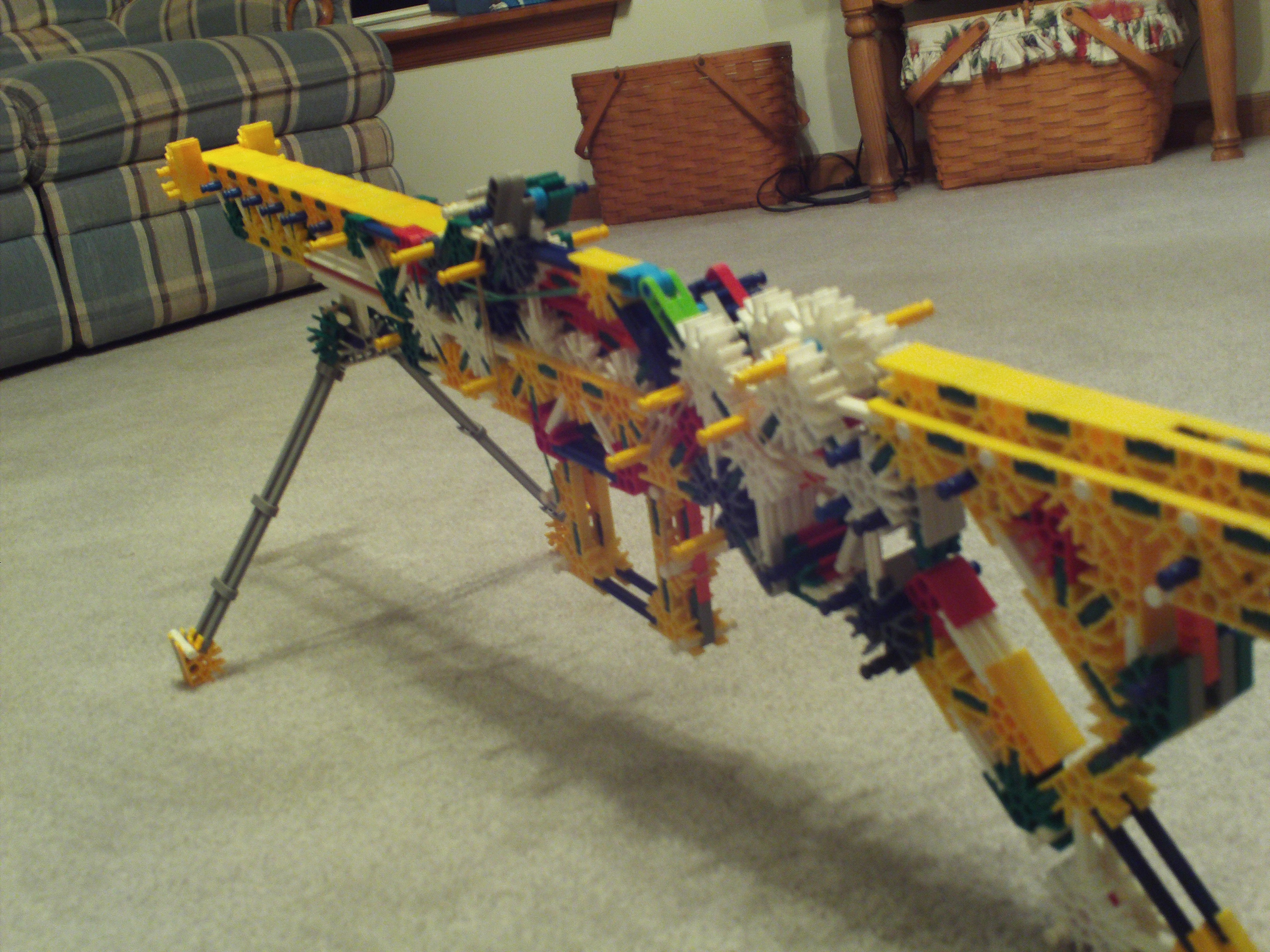 CM-10, A Bolt Action Knex Rifle