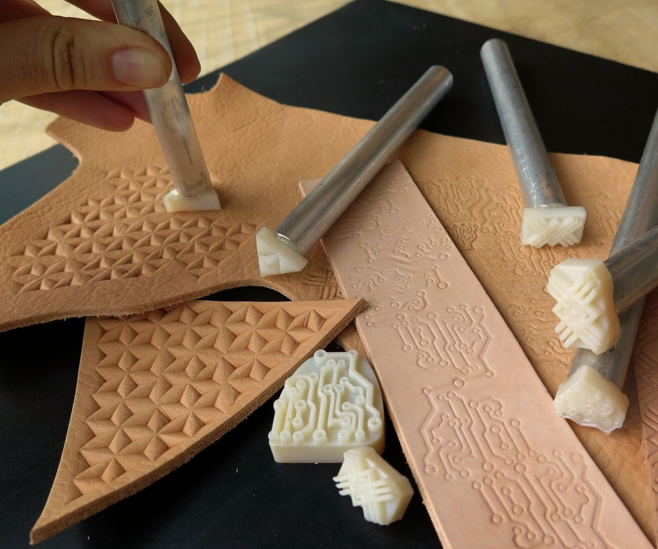 3D Print Your Own Leather Stamps