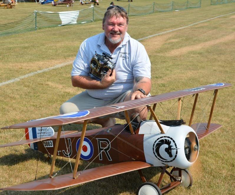 "56/"" wingspan Sopwith Camel R//c Plane short kit//semi kit and plans"
