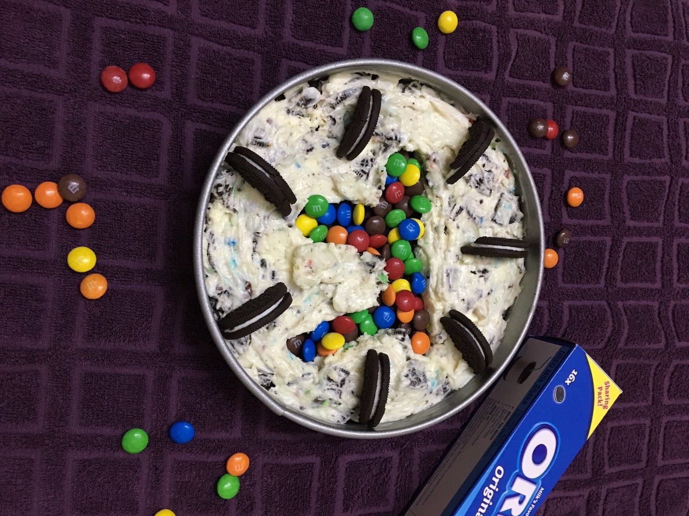 Filling the Center With Mnm's