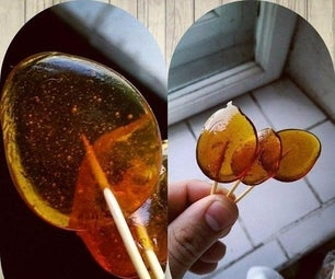 Simple Sugar Lollipops (LEDENETS)