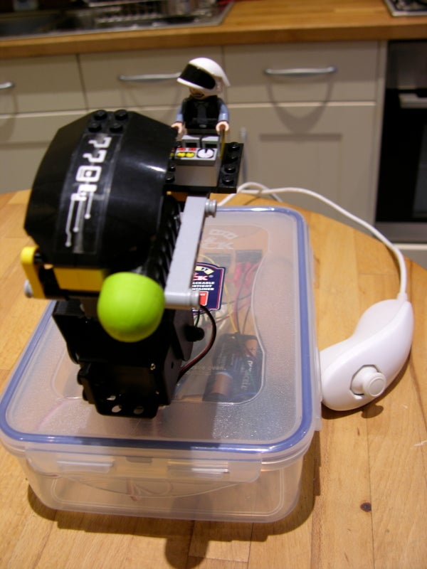 Arduino / Wii Controlled Lego Star Wars Rocket Turret