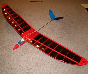 Ultralight RC Glider From Scrap
