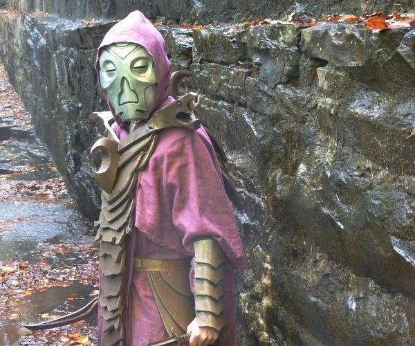 Skyrim Dragon Priest Costume Build