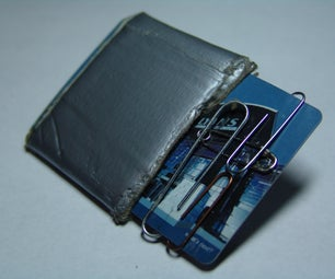 Take Duct Tape to the Next Level (Everywhere) - and Other Ways to Make a Fully Loaded Wallet.
