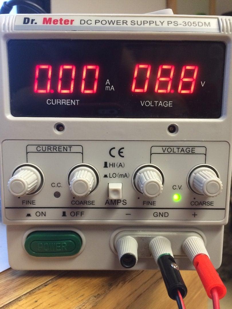 LM 3914 Battery Level Indecator