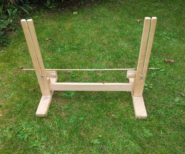 Simple Height-adjustable Dog Hurdles