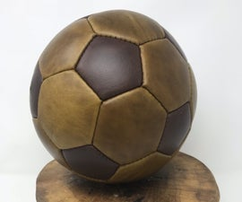 Make a Custom Leather Soccer Ball (football for the Folks Not in the US)