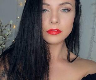 Weekend Red Lip Glam