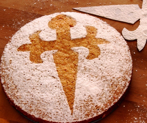 Almond Cake - Tarta De Santiago Recipe