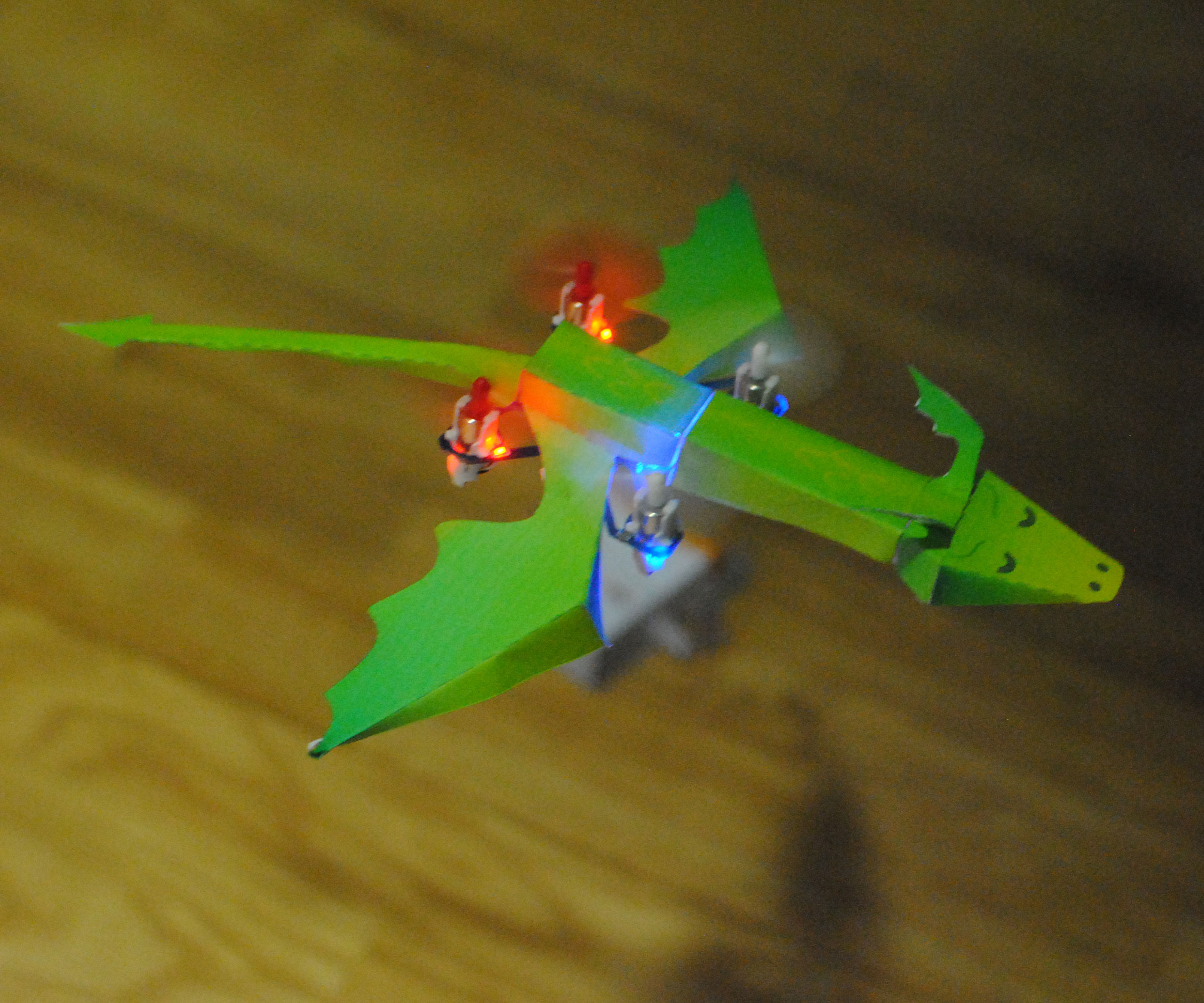 Flying R/C Dragon