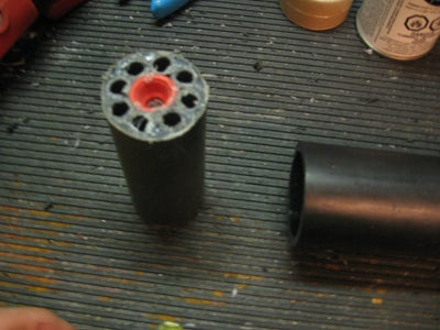 Homemade Airsoft Grenade Launcher Powered by Co2
