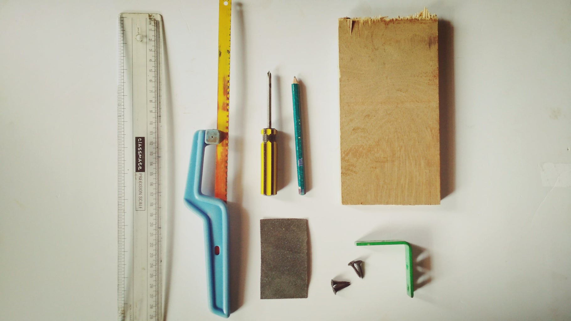 Collecting Materials and Equipment