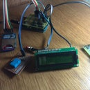 Arduino Temperature and Humidity logger with DHT11 and I2C Display