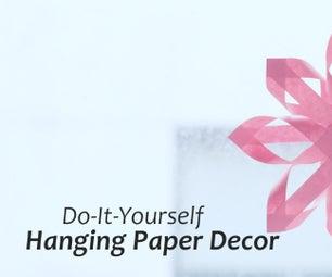 DIY : Hanging Paper Decor