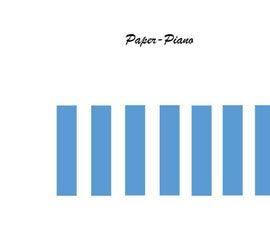 DIY Paper Piano