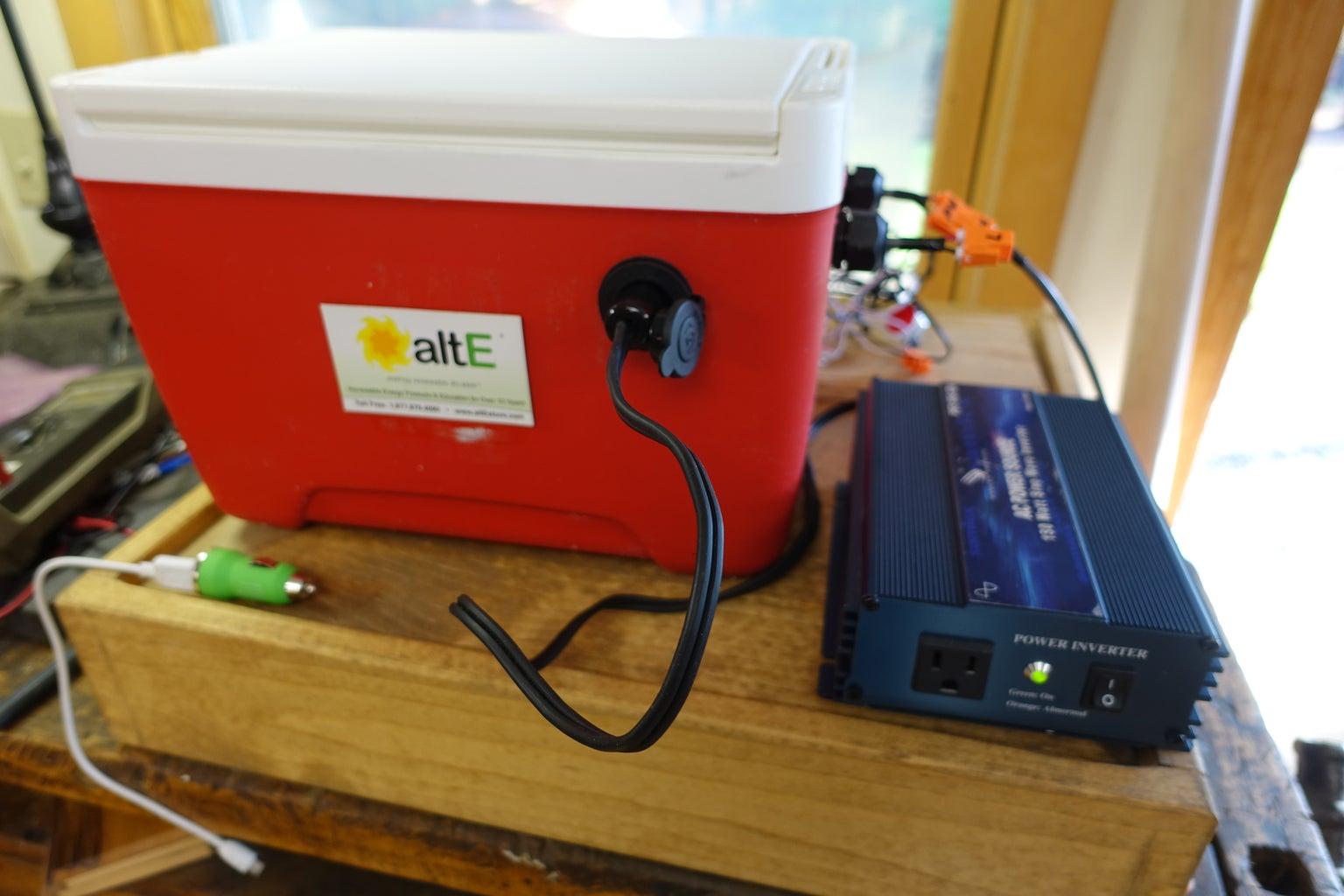 Optional: Plug in Inverter
