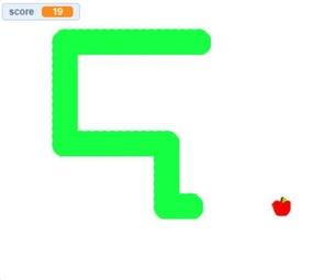 如何在Scratch上编写一个贪吃蛇游戏