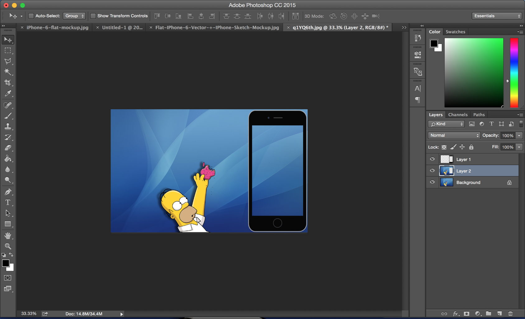 Editing Your Wallpaper