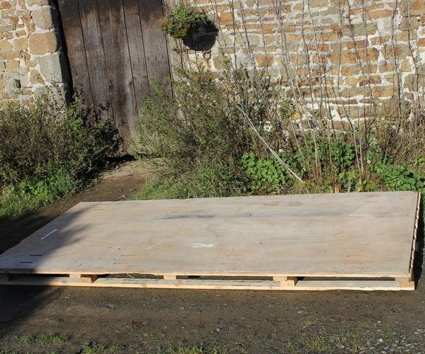1 Plywood Pallet Top = 7 Projects. 1 Contre-plaqué Récup, 7  Projets. Un Contrachapado, 7 Proyectos