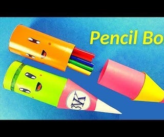 How to Make a Pencil Case Out of Paper?
