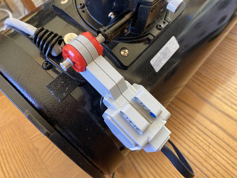 Attach Motor to Telescope