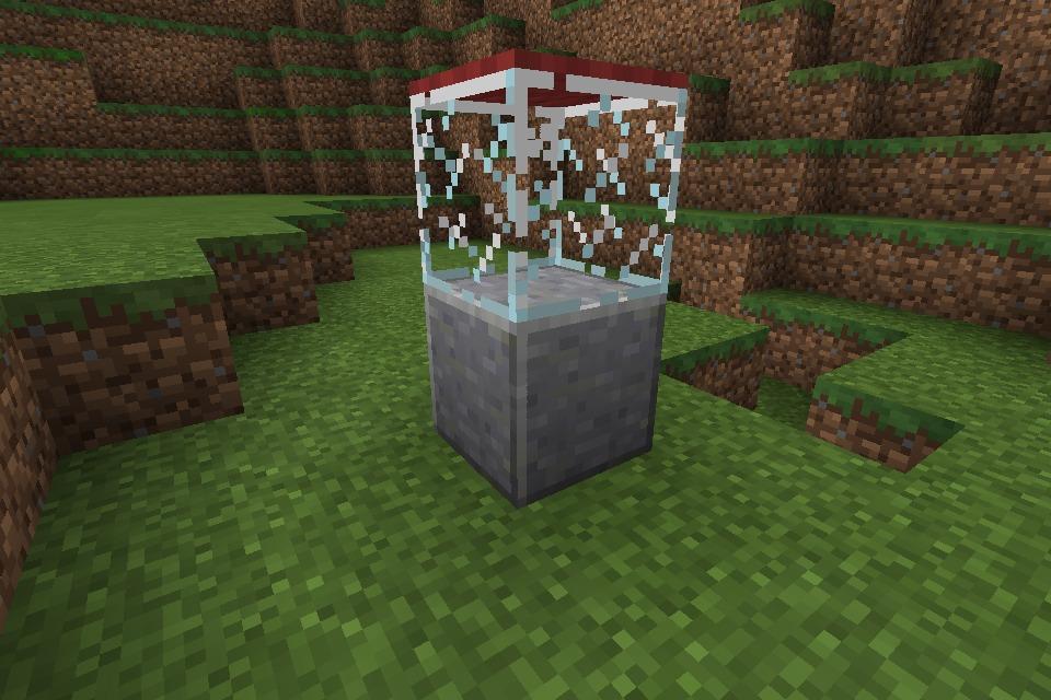 How To Make A Popcorn Machine In Minecraft Pe (+sfx)
