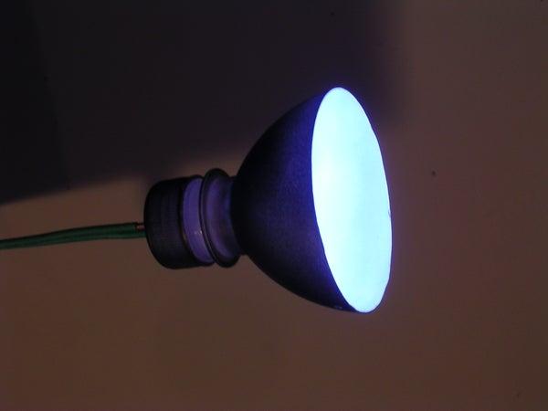 Water Bottle Hack - LED Booklight