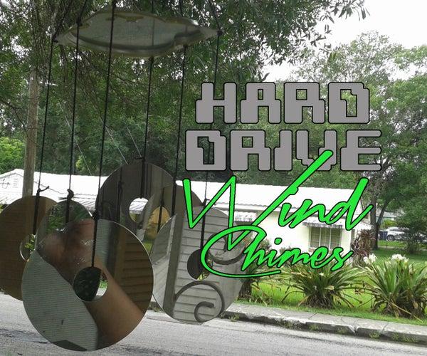 Hard Drive Wind Chimes