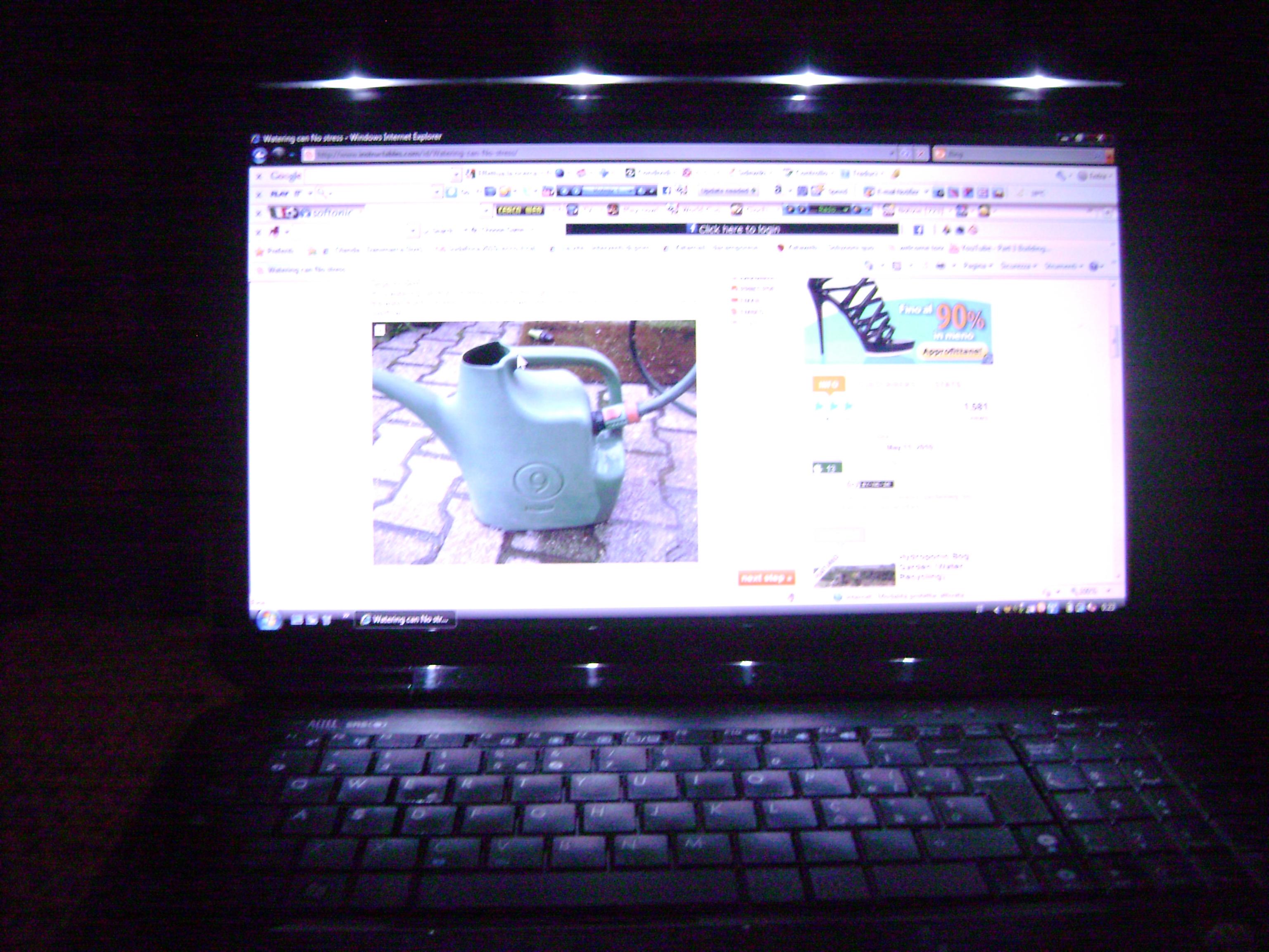 Nightlight led laptop from USB