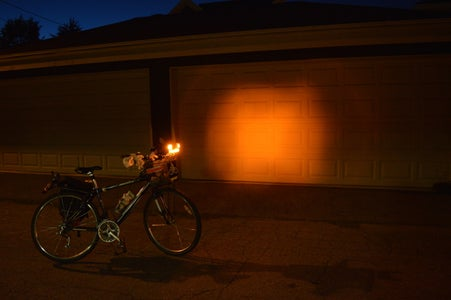 Using the Bike Light