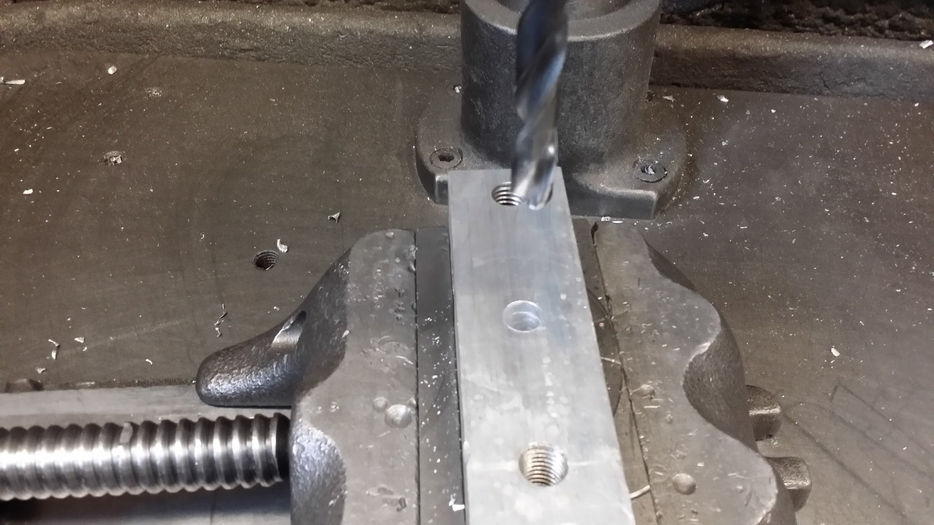 Drill Hole With Appropriate Drill Size