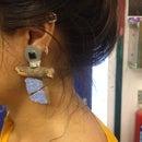 Sugru Earrings