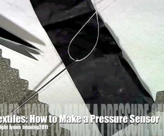 ETextiles: How to Make a Pressure Sensor