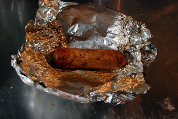 VEGAN BBQ SAUSAGE EASY AND CHEAP