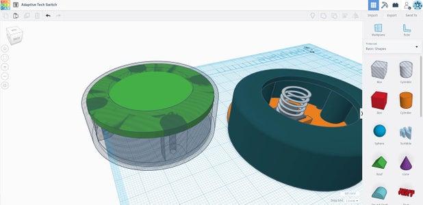 3D Model Your Custom Switch Casing