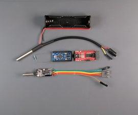 Easy IOT - Low Power Wireless Temperature Sensors