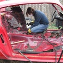 Halo and Window Post Installation - Building a Pure Stock Race Car - Part 4