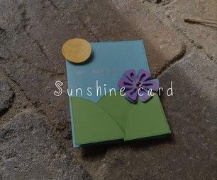 Pop Out Sunshine Card