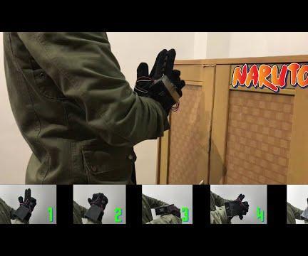 Using Ninjutsu Hand Signs (Naruto) to Unlock a Safe