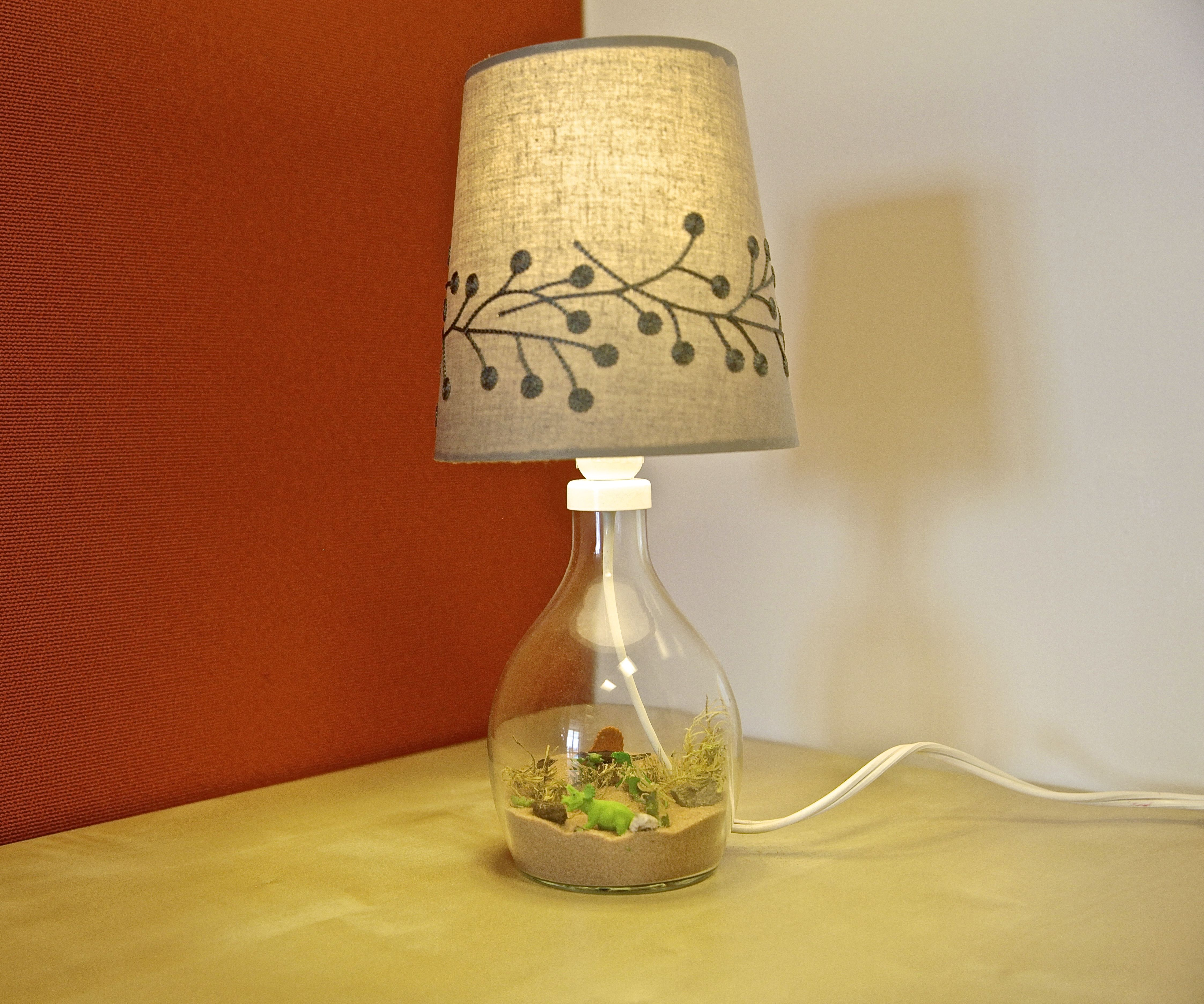 Dinosaur Diorama Lamp