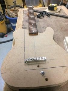 Preparing the Guitar Body: