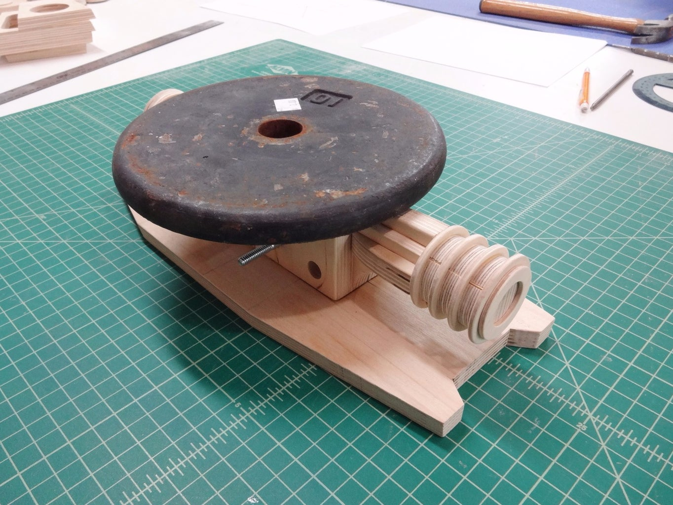 Undercarriage to Base Plate